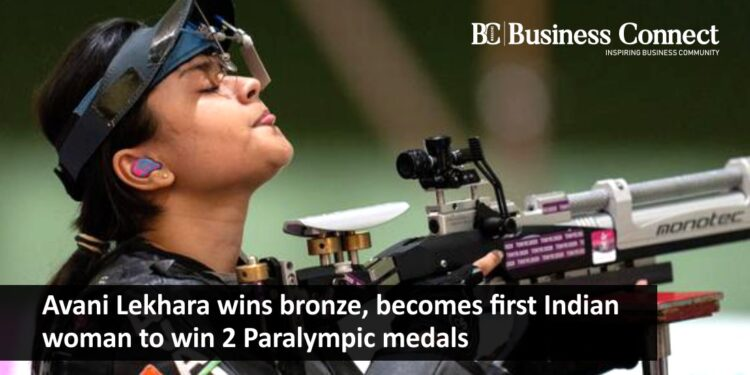 Avani Lekhara wins bronze, becomes first Indian woman to win 2 Paralympic medals