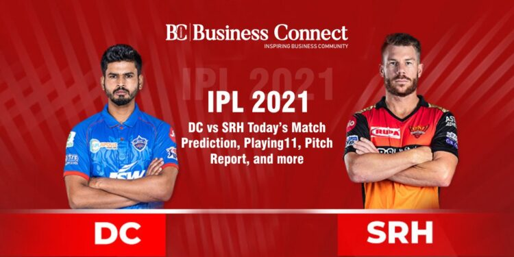 IPL 2021: DC vs SRH Today's Match Prediction, Playing11, Pitch Report, and more