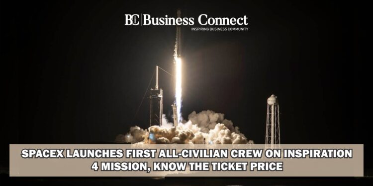 SpaceX launches first all-civilian crew on Inspiration4 mission, know the ticket price