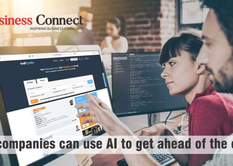 How companies can use AI to get ahead of the crowd