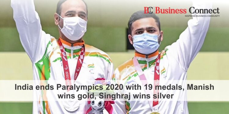India ends Paralympics 2020 with 19 medals, Manish wins gold, Singhraj wins silver