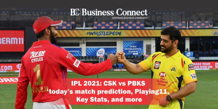 IPL 2021: CSK vs PBKS today's match prediction, Playing11, Key Stats, and more