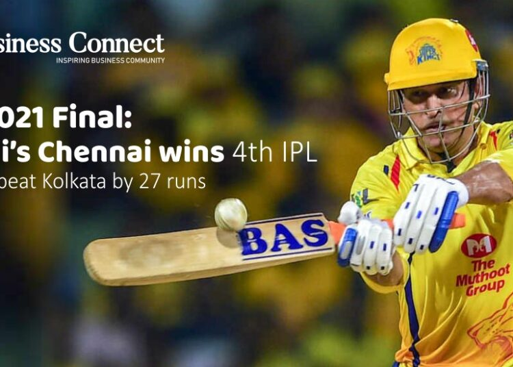 IPL 2021 Final: Dhoni's Chennai wins 4th IPL trophy, beat Kolkata by 27 runs
