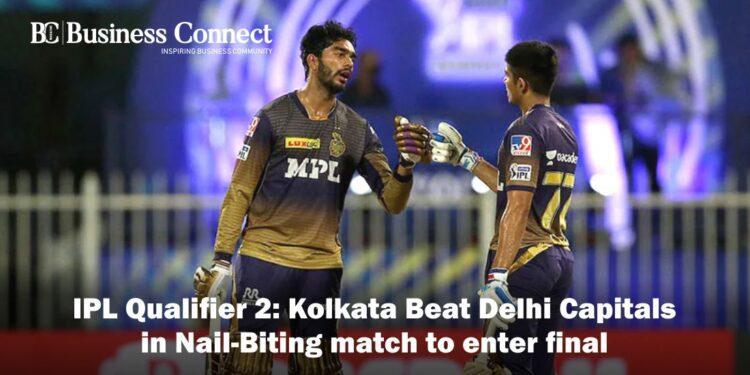 IPL Qualifier 2: Kolkata Beat Delhi Capitals in Nail-Biting match to enter final