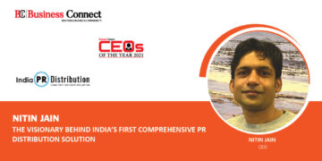 NITIN JAIN : THE VISIONARY BEHIND INDIA'S FIRST COMPREHENSIVE PR DISTRIBUTION SOLUTION